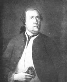 A picture commonly believed to be of Pehr Kalm