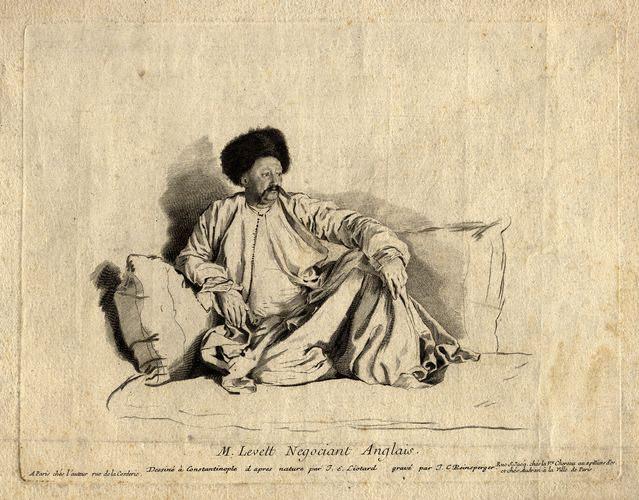 A Turkey Company merchant, Francis Levett